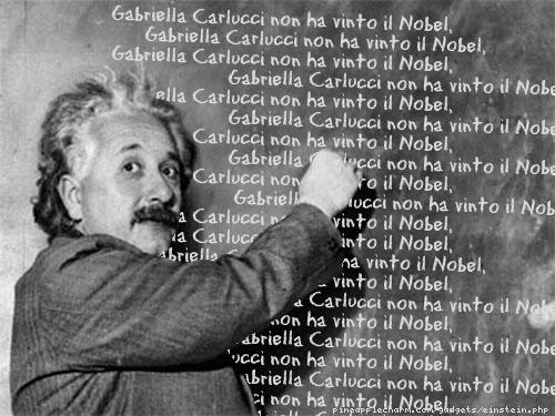 Alert Einstein ci ricorda i titoli accademici di Gabriella Carlucci